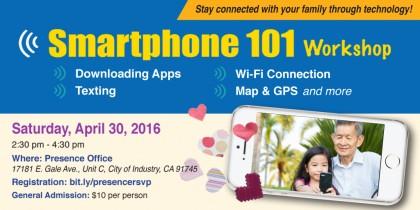 smartphone 101 workshop english